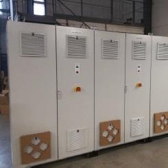 Шкафы управления вибродиагностики и токораспределения estl  estl control compressor шкафы управления компрессорами